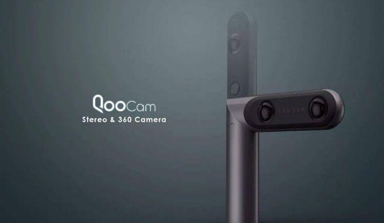 QooCam: World's First interchangeable 4K 360° & 3D Camera